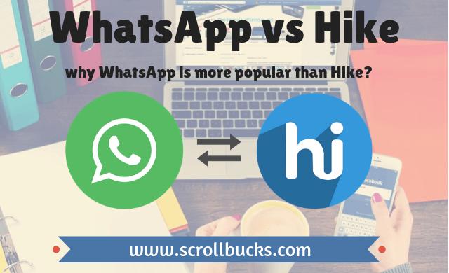whatsapp vs hike