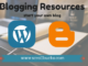 Blogging Resources