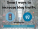 Smart ways to increase traffic to your blog