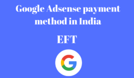 Google adsense payment method in India