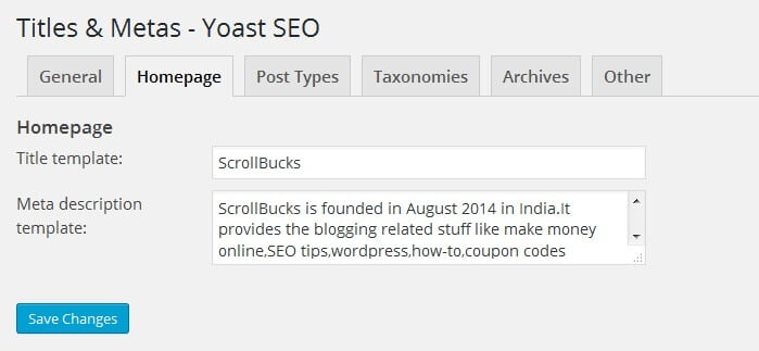 seo by yoast titles and metas