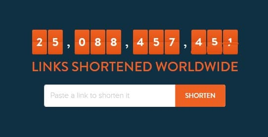 bitly url shortner tool