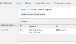 How to create Google custom search box for blog?