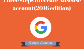 How to create Google Adsense account?