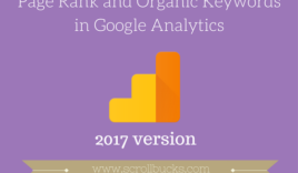 How to check page rank with Google Analytics?