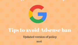 Important tips to avoid Adsense ban