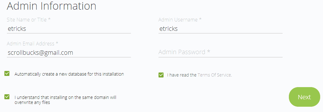 install wordpress in bluehost hosting