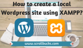 How to create a local WordPress site using XAMPP?