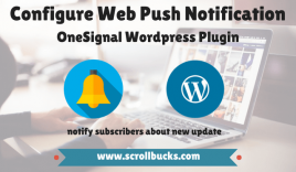 How to configure web push notifications for WordPress blog using OneSignal?