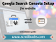 How to configure Google search console for website?