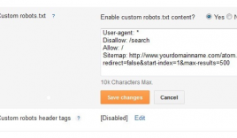 How to submit sitemap in BlogSpot blog?