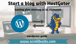 How to start a blog with HostGator?