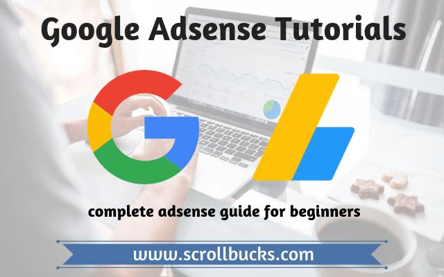 adsense tutorials