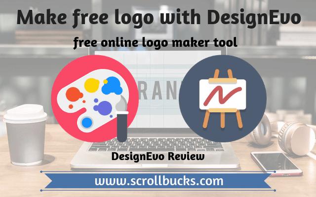 How To Make A Free Logo With Designevo Scrollbucks