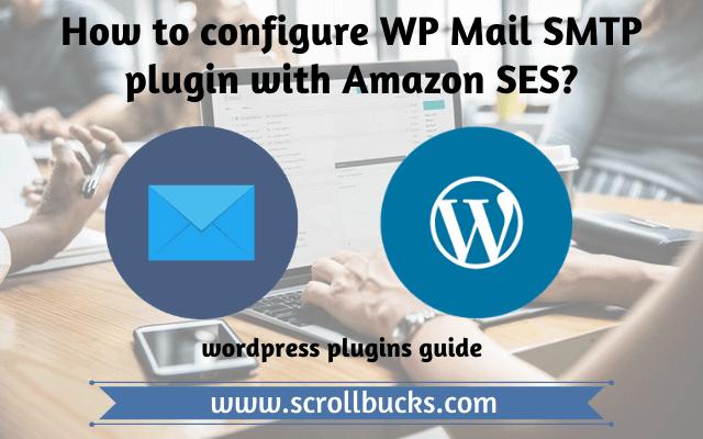 configure amazon ses with wp mail smtp wordpress plugin