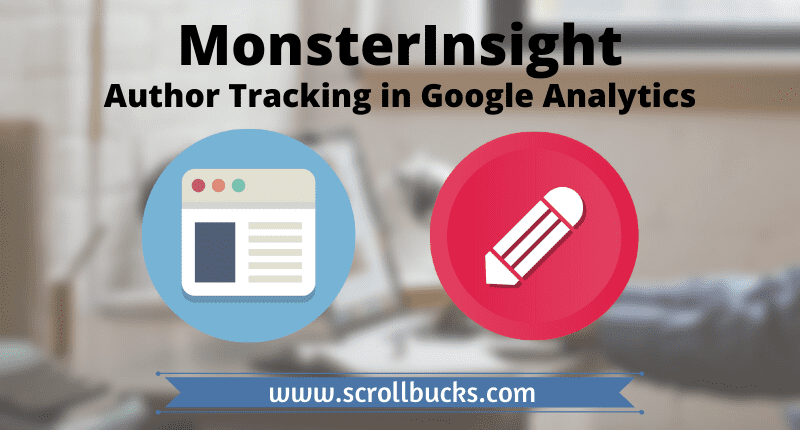 author tracking in google analytics