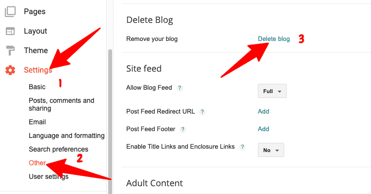 How To Delete a Blog On Blogger?