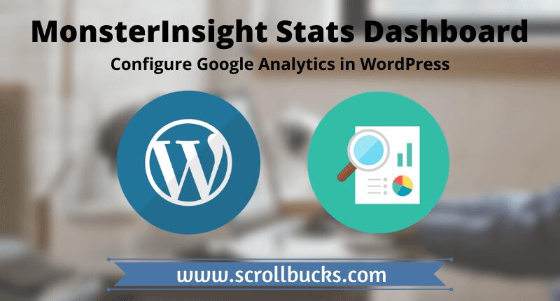 monsterinsight stats dashboard