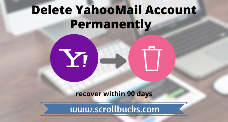 delete yahoomail account permanently