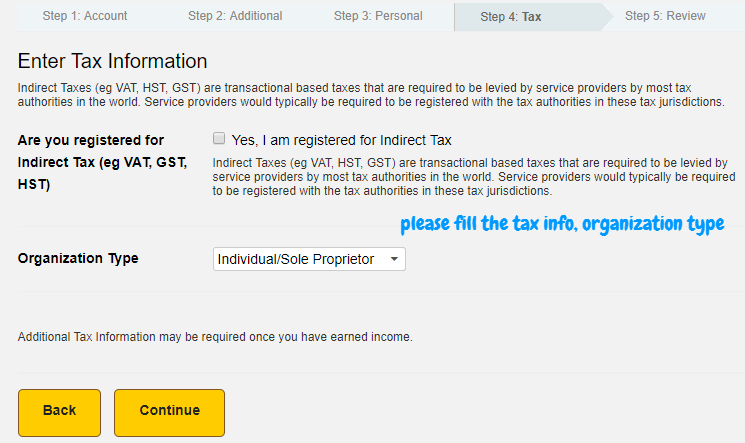 hostgator affiliate tax information