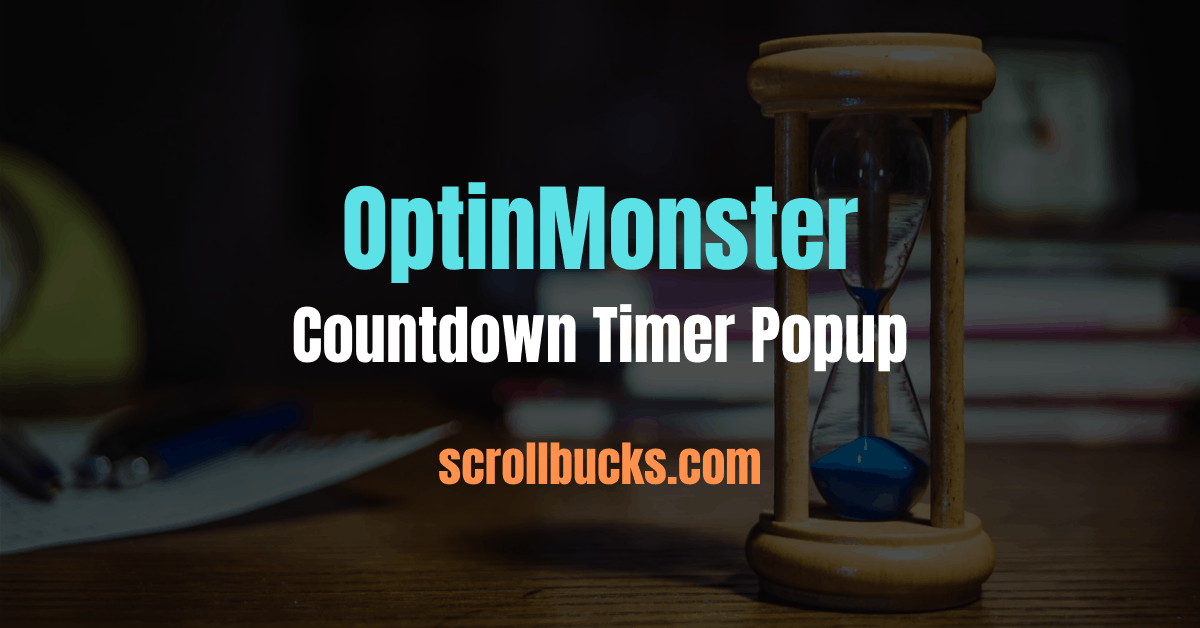optinmonster countdown timer popups