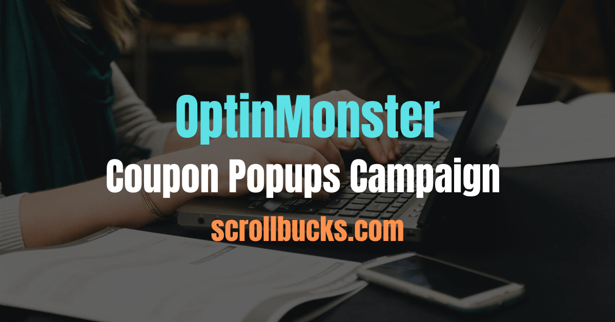 Coupon Popups Campaign