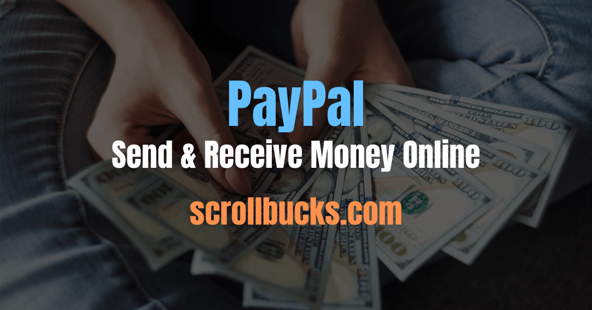 paypal Send And Receive Money online