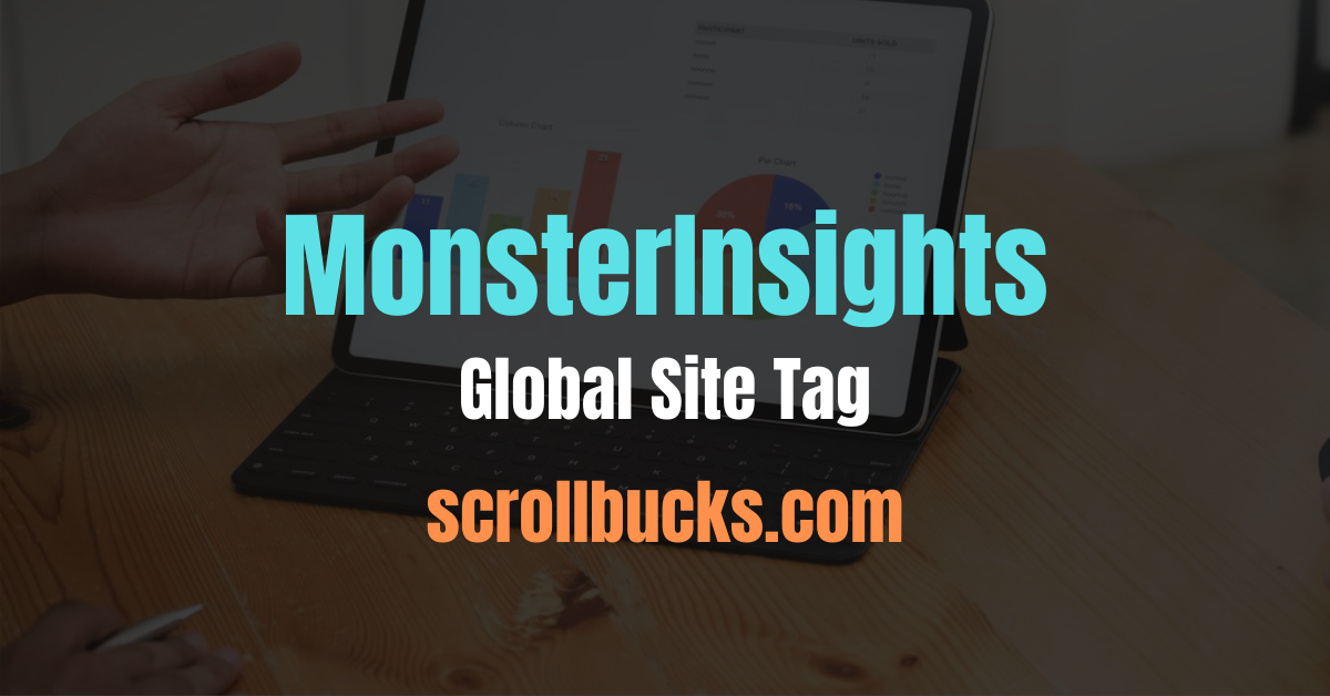monsterinsights global site tag