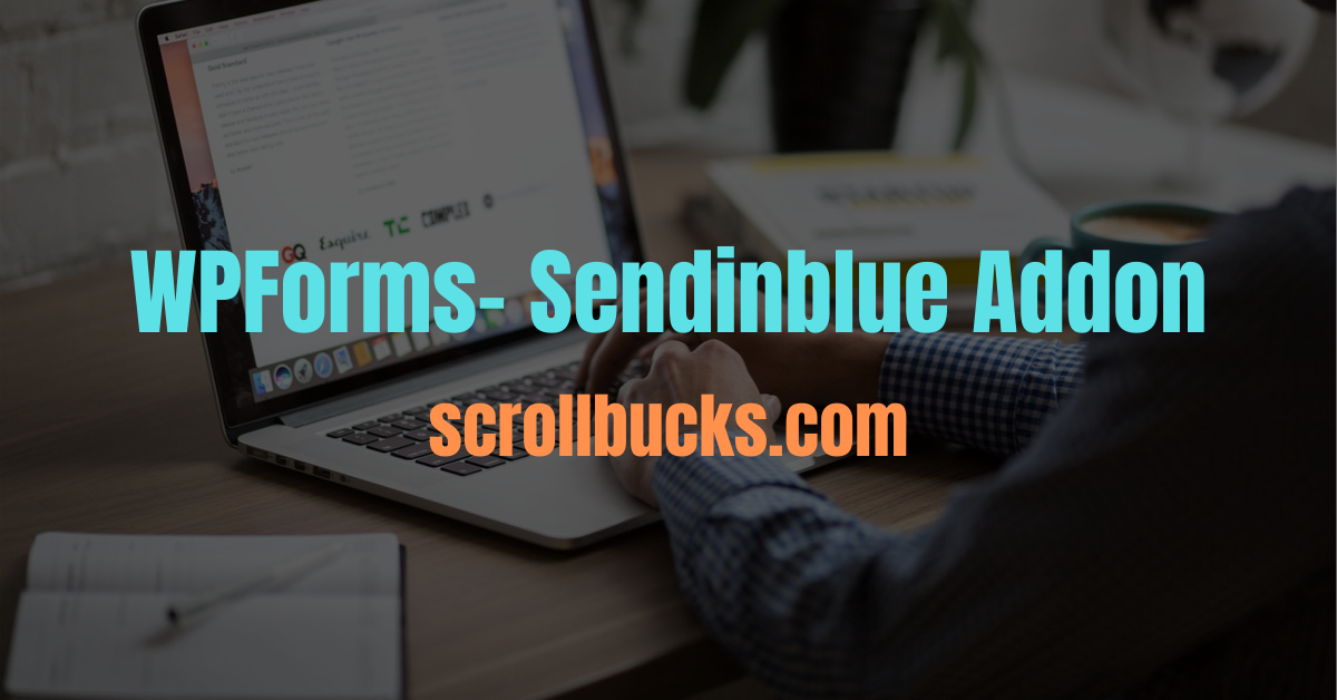 wpforms sendinblue addon